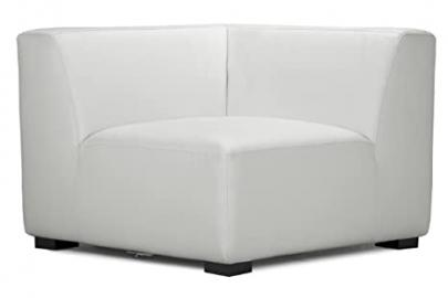 ZUO Portrait Sofa Corner, White