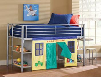 Universal Junior Loft Bed w/ Desk and Stool