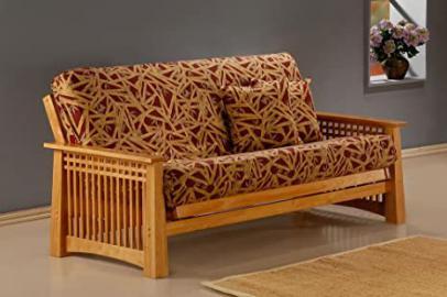 J&M Furniture 175657-F-CSPK Prima Futon Frame