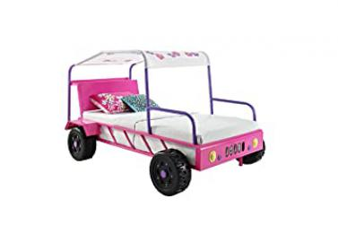Powell Girls Buggy Twin Bed, Dresser & Chest