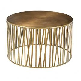 Gold Iron Coffee Table