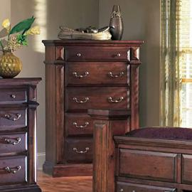 Progressive Furniture Torreon 5 Drawer Chest - Antique Pine