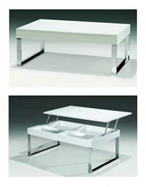 J030 Coffee Table | White