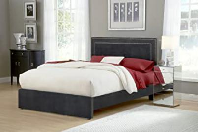Hillsdale Amber Bed in Pewter - California King