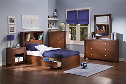 Jumper Twin Mate's 5 Piece Bedroom Set