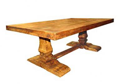 Moti Furniture Napa Arra Pedestal Coffee Table, Brown
