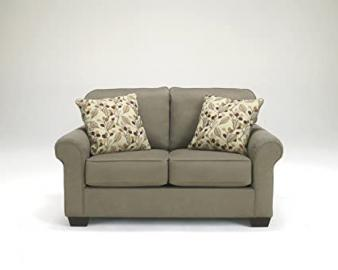 Danely Dusk Collection Contemporary Style Fabric Upholstered Loveseat Love Seat