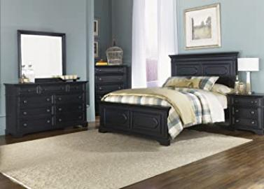Liberty Carrington II Panel Bed Set 917-BR