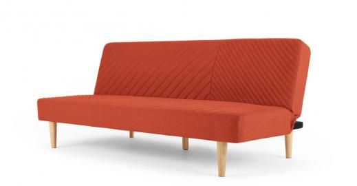 Ryson Schlafsofa, Retro-Orange - MADE.com