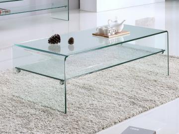 Couchtisch Glas STILEOS