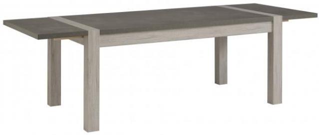 Esstisch Malone mit Verlängerung Portofino Grey
