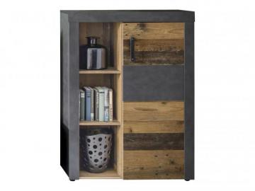 Kommode INDY von Trendteam Old Wood / Graphit Grau Matera