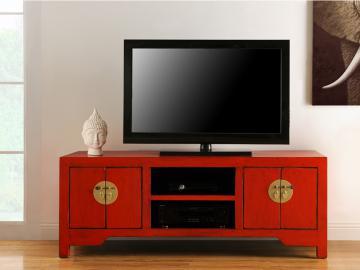 Asia TV-Möbel Holz Foshan - Rot
