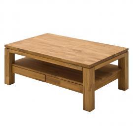 Tavolino da salotto Jerik - Durame di faggio oliato - Quercia selvatica, Ars Natura