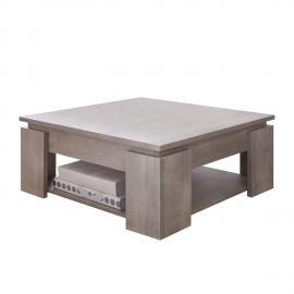 Tavolino da salotto Toras - Effetto quercia Color champagne, Fredriks