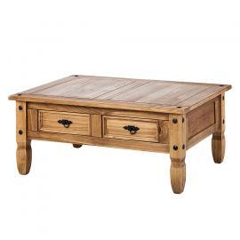 tavolino da salotto Zacateca - Pino massello Anticato, Maison Belfort