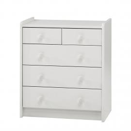 Cassettiera Steens for Kids I - MDF bianco, Steens