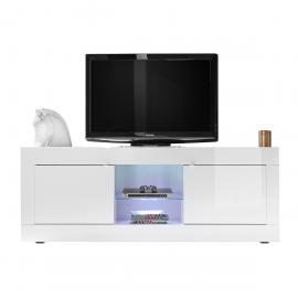 Mobile TV design laccato bianco 180 cm LATTE