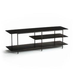 Mueble para TV hi-fi de metal con efecto usado Jacobson