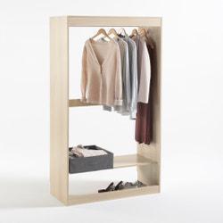 Módulo armario, perchero + 1 estante Build