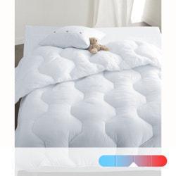 Conjunto de microfibra nórdico 400 g/m² cama doble + 2 almohadas