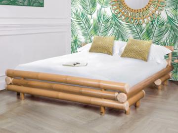 Cama DAHLIA - 160x200 cm - Bambú