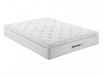 Colchón ignífugo y cubrecolchón integrado DELICE de DREAMEA HOTEL - 160x200 cm