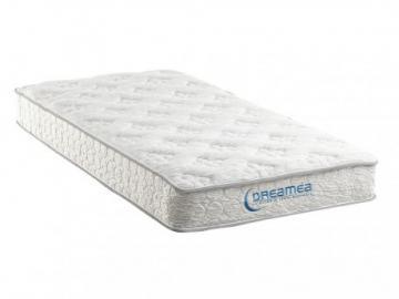Colchón de muelles ensacados de 22 cm de grosor SERENITE de DREAMEA - 90x190 cm