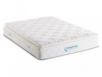Colchón de muelles ensacados con cubre colchón integrado AMERICAN DREAM de DREAMEA - 200x200cm
