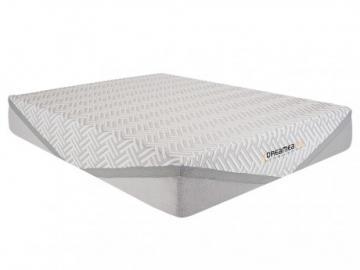 Colchón de lujo ignífugo de muelles ensacados y cubrecolchón de látex integrado EDEN de DREAMEA HOTEL - 160x200 cm