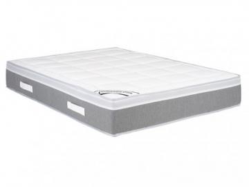 Colchón de muelles ensacados con acolchado de látex DUCHESSE de DREAMEA - grosor: 28 cm - 140x190 cm