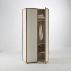 Armario ropero 2 puertas + 3 estantes Compo