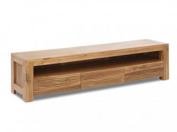 Mueble TV LOFT II - 1 hueco & 3 cajones - Teca maciza