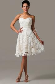 Koronkowa sukienka na wesele, studniówkę - Lejdi