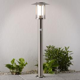 LED tuinpadverlichting Gregory, rvs, met sensor