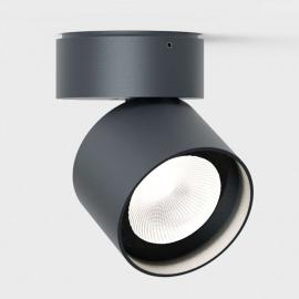 IP44.de Pro zwenkbare LED buitenspot, antraciet