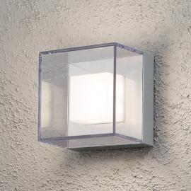 Transparante led outdoor wandlamp Sanremo - IP54