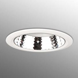 Dimbare Led-downlight D70, universeelwit - wit