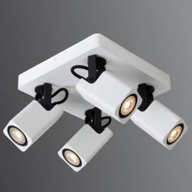 4-lamps LED plafondlamp Roax