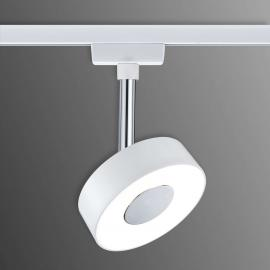 Witte LED spot Circle voor U-Rail railsysteem