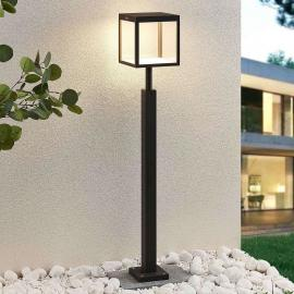 LED tuinpadverlichting Cube, grafiet, IP54, 100 cm