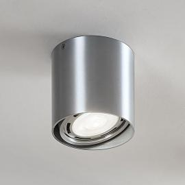 LED downlight Rosalie, 1-lamp, rond, alu