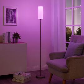 Lindby Smart RGB-LED vloerlamp Felice, via app