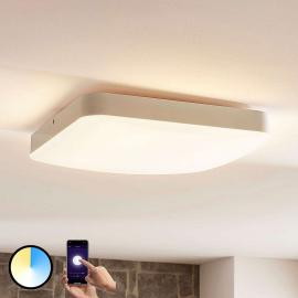 Lindby Smart LED plafondlamp Chester, hoekig