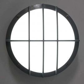 Aludruckguss Wandleuchte SUN 8 LED, 8W 3K