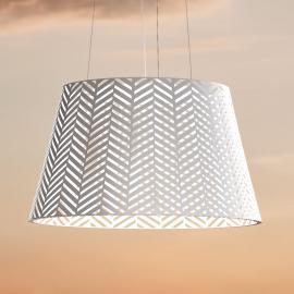 LED-Pendelleuchte Spike für innen und außen