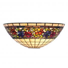 Klassische Tiffanystil-Wandleuchte FLORA