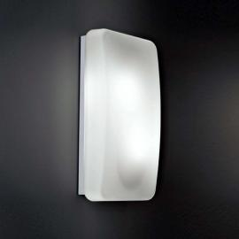 Glas-Wandleuchte Rialto, 20 x 40 cm