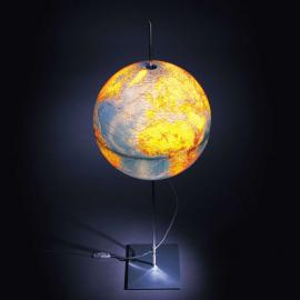 Erdball-Stehleuchte Globe Earth
