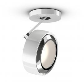 Occhio Più R alto 3d Volt B Deckenstrahler, 2700 K, weiß glänzend / Chrom